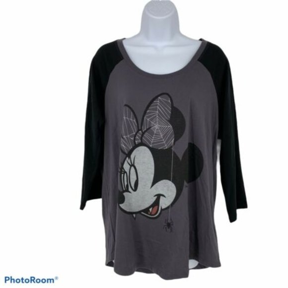Torrid Minnie Mouse Halloween Shirt Size M